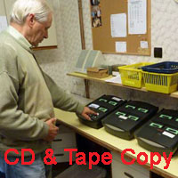 CD & Tape Copying